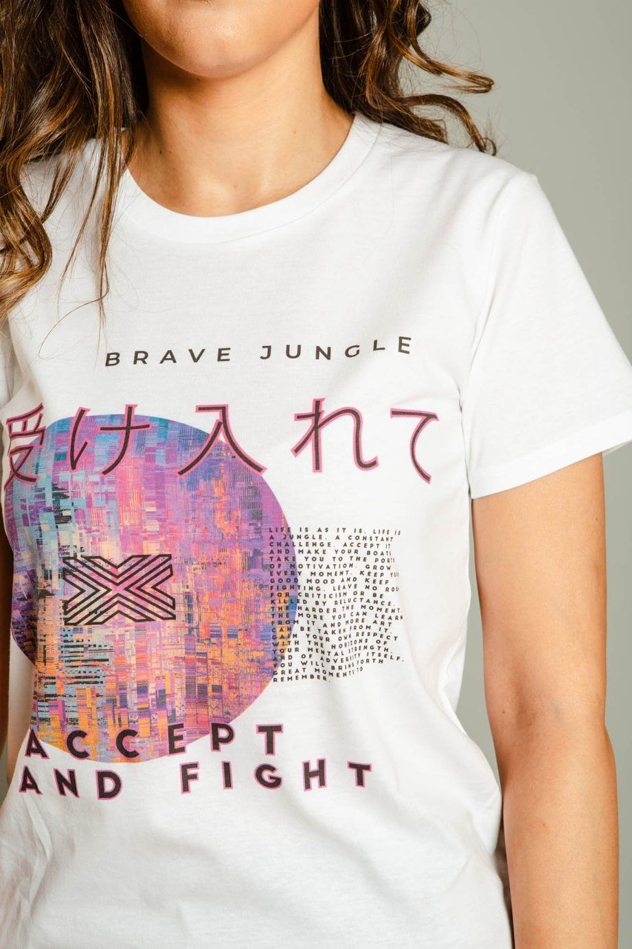 Camiseta Accept And Fight