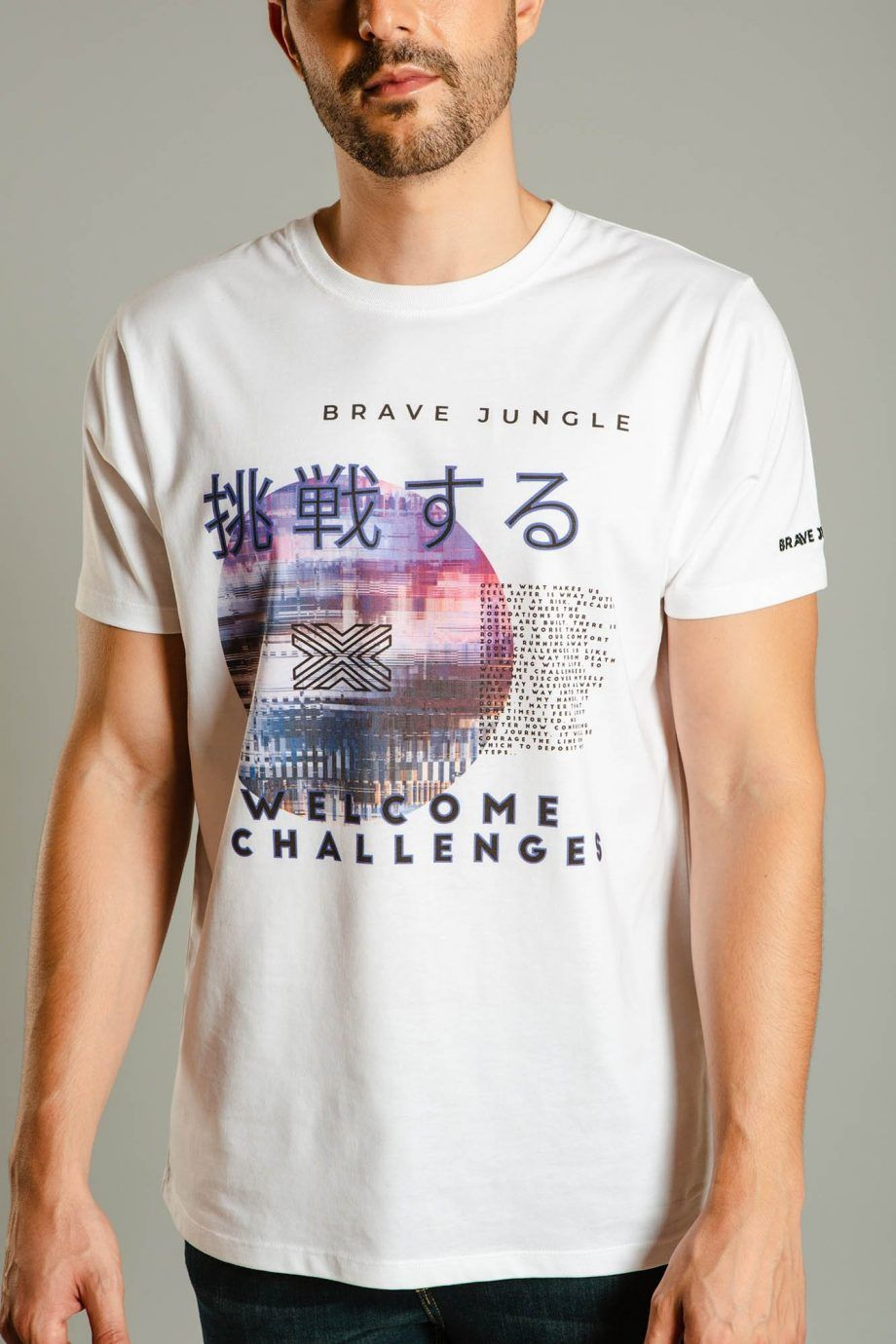 Camiseta Welcome Challenges