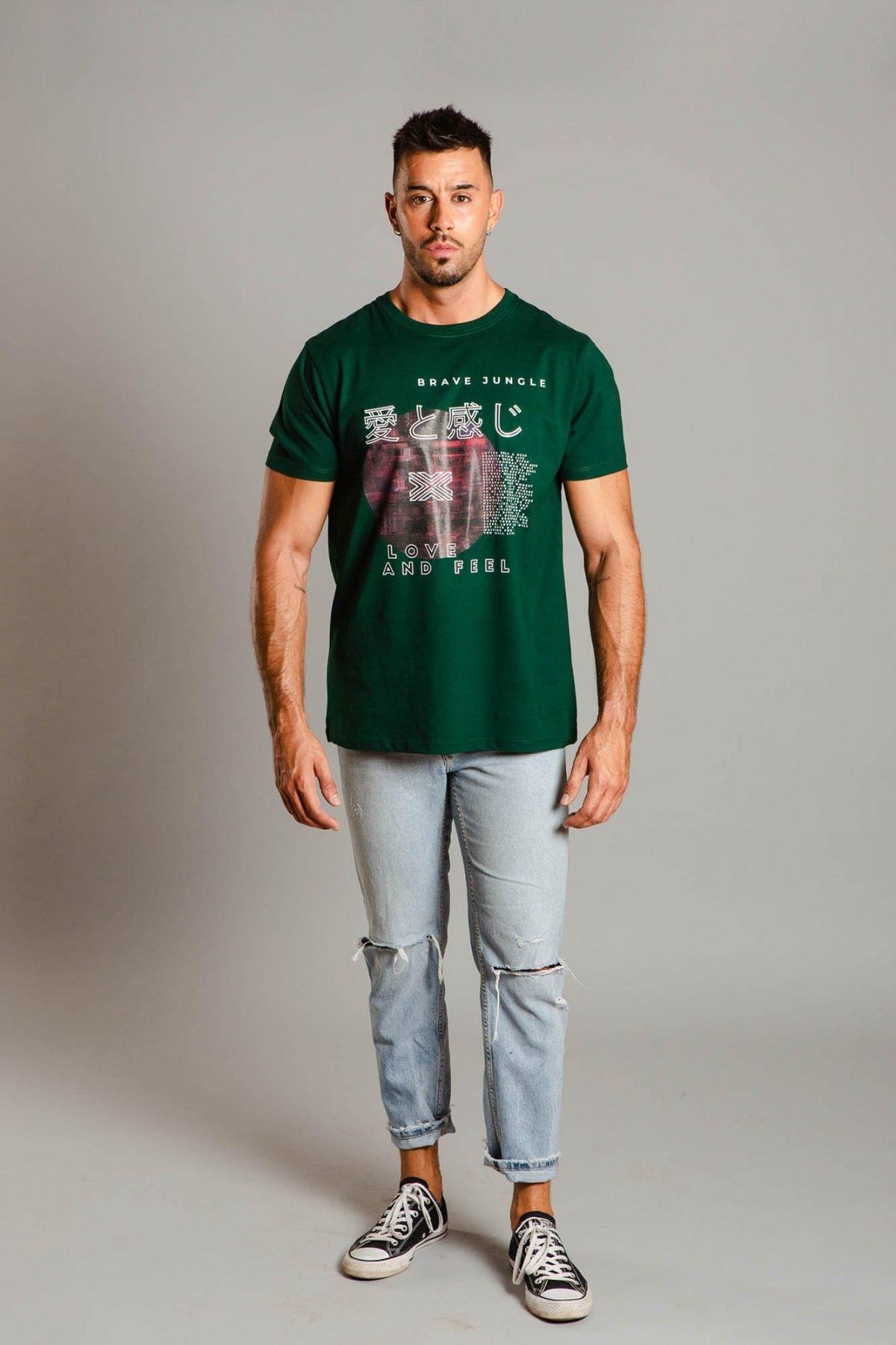 Camiseta Love And Feel
