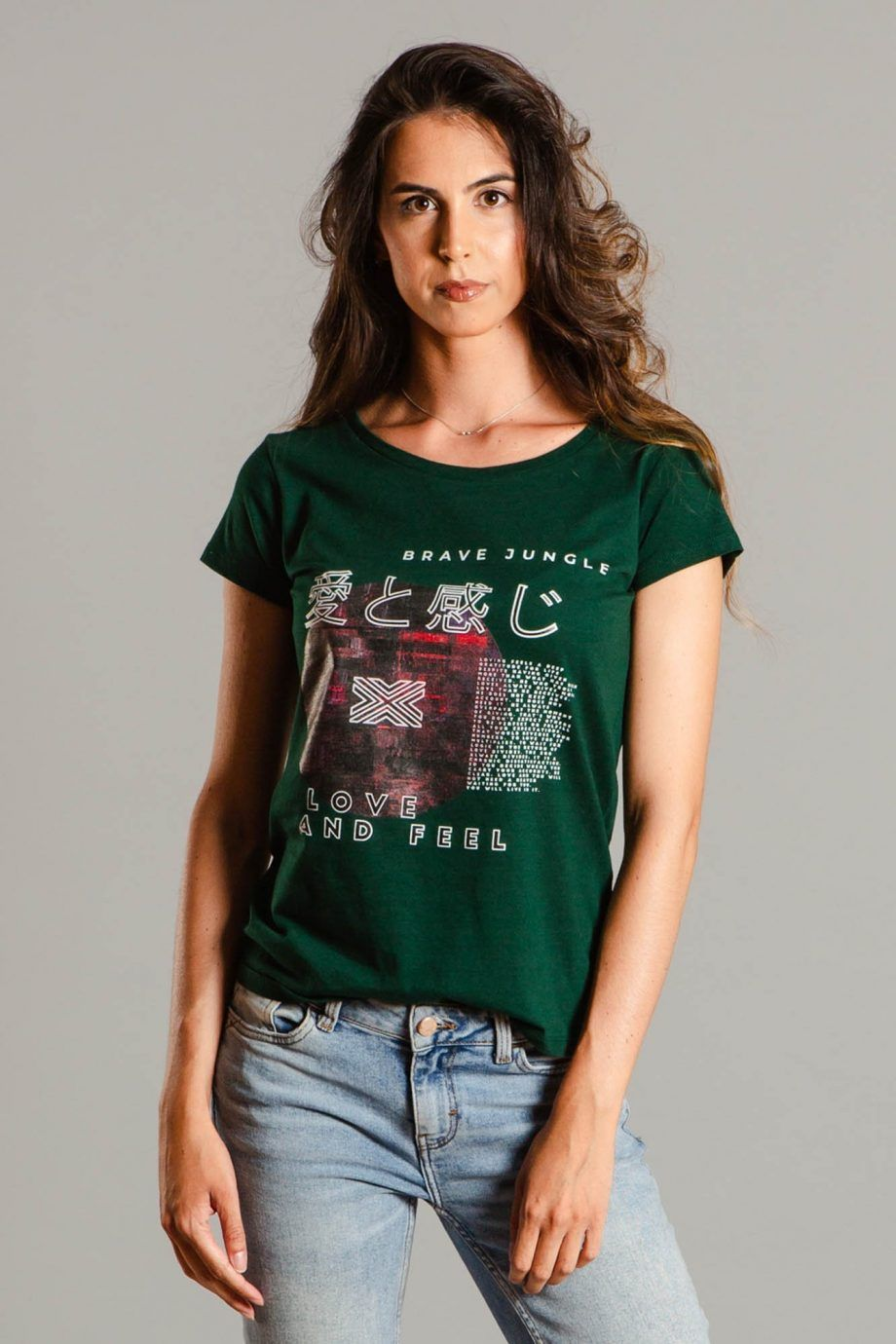 Brave Jungle Womens T-shirt - CMBO1001