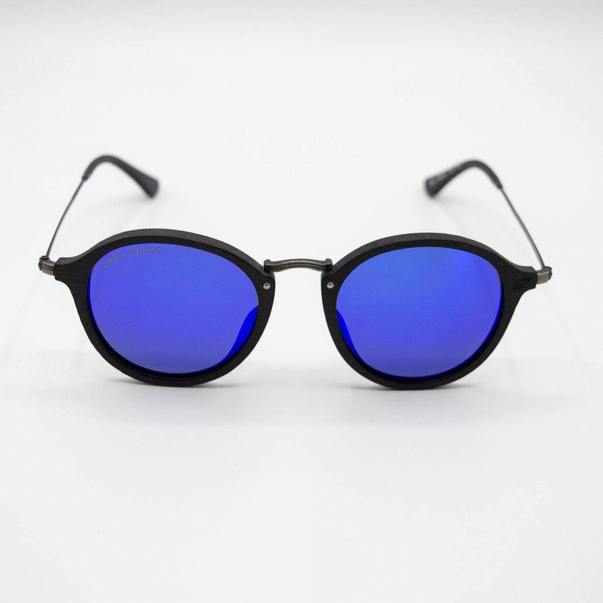 gafas de sol vanus black blue frontal 4