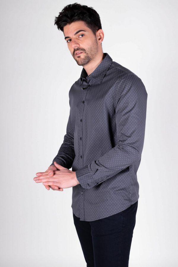 sorbino micro polka dot shirt