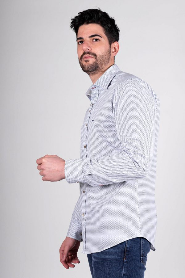 Italian timeless structural shirt